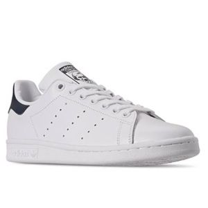 adidas Stan Smith sneakers in white and navy